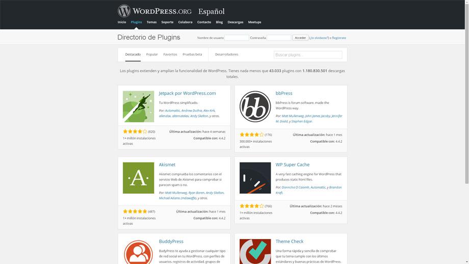 directorio_de_plugins_wp