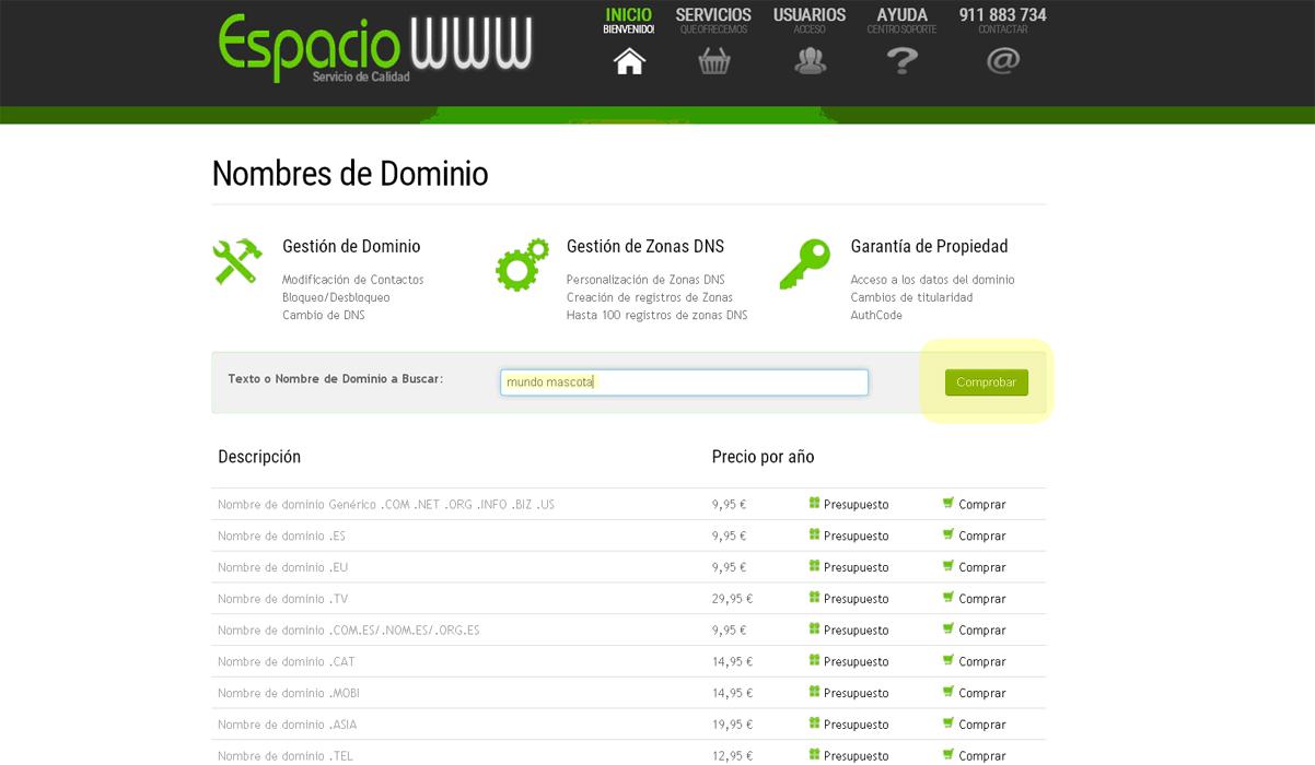 nombres de dominio_paso1
